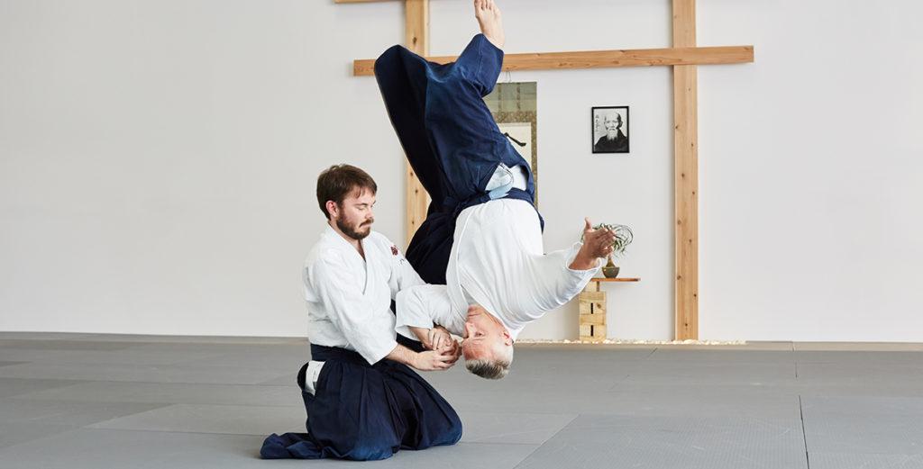 Vigorous Training in Aikido