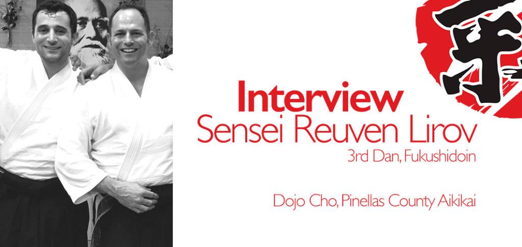 Today, I'm speaking with Reuven Lirov, 3rd Dan