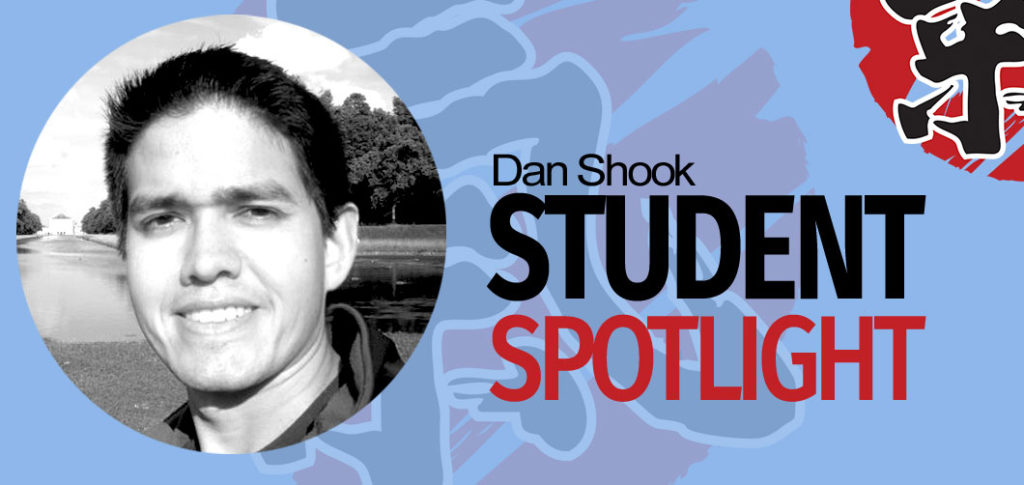 Today, I'm speaking with Dan Shook, 7th Kyu