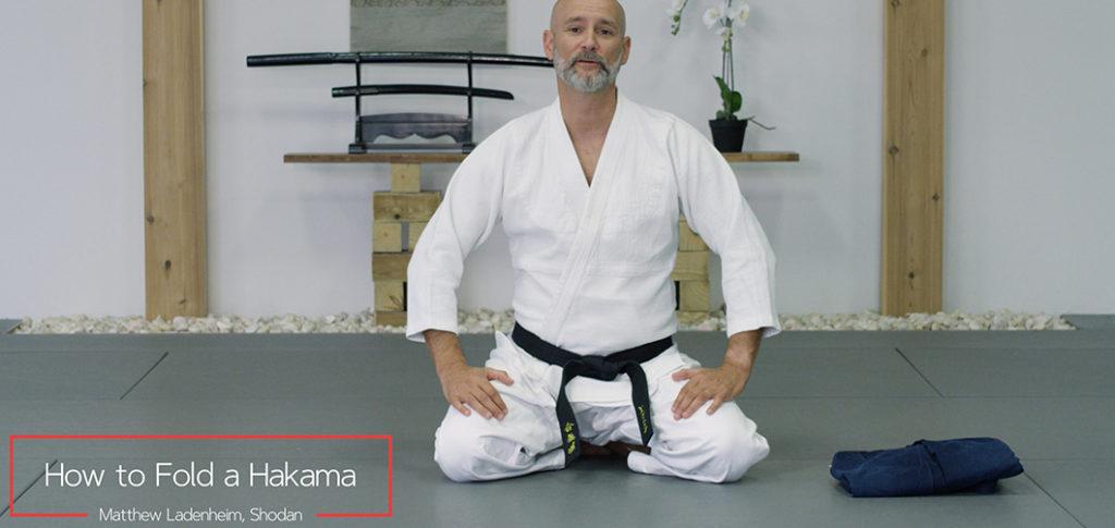 How to fold a Hakama